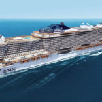 Круизный лайнер Msc Seaside
